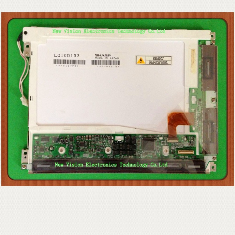 "LQ10D133 Original 10.4"" inch VGA TFT LCD Display Screen"