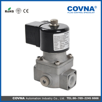 Aluminum alloy material best quality gas solenoid valve for gas
