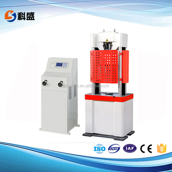 WE-600D Tensile strength test instrument
