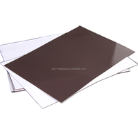 1mm thick Flexible Adhesive Rubber Magnet pvc board strong magnetic sheet magnetic rubber sheet