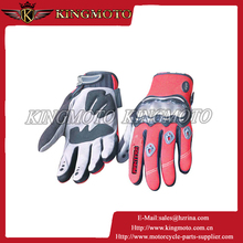 Adult Motorcycle Gloves With Carbon Fibre Finger and Knuckle Protection