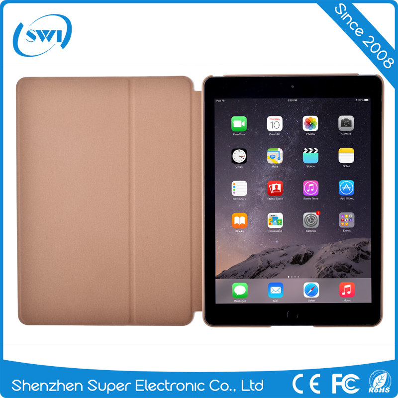 2017 hot selling high quality Comma full protective shookproof luxury anti-flip leather cover case for iPad Pro 9.7