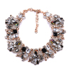 Rhinestone Choker Neck Chain Necklace Jewelry