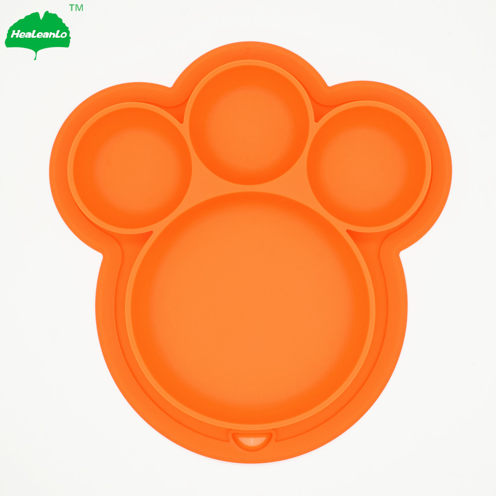 Chinese Black <strong>Natural</strong> Decorative Plate Made by Food Grade Silicone