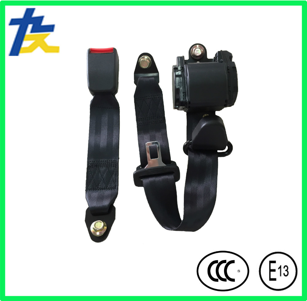 universal 3 points seat belts bus seat belts car safety belt