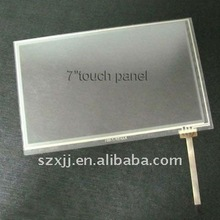 seven inch LCD Touch screen with Tablet computer and GPS positioning seven inch touch panel manufacturers
