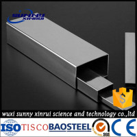 sus304 material specification stainless steel rectangular tube pipe