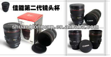 24-105MM stainless steel camera lens mug cup 2nd