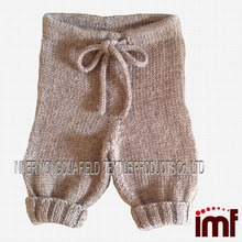 Cashmere Baby Thermal Pants With Line