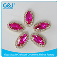 GuoJie brand best quality ornaments with stones for shoes rhinestone crystal