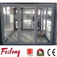 Aluminum Folding Door Passed AS2047 Standard