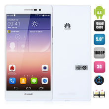 5.0Inch Huawei P7 4G Android4.4 Hisilicon Kirin 910T Quad-core 2GB 16GB 1920 x 1080 Screen 8.0MP+13.0MP Dual Camera Phone