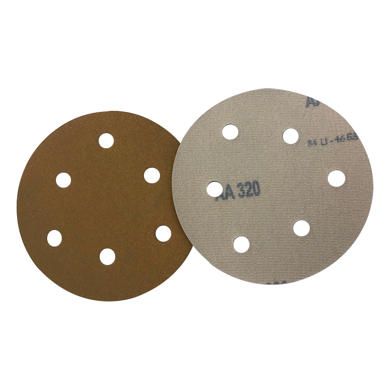 6-inch hook and loop sanding disc with hole Wet//dry brown Corundum 4000 Grain 3 pieces