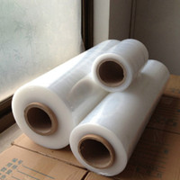 Factory Price LLDPE Material 23 Micron Pallet Stretch Film