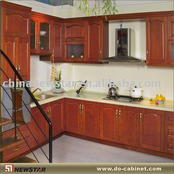 Ch ne rouge modual armoires de cuisine armoire de cuisine - Cuisine bois et rouge ...
