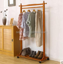 Removable New Design Clothes Hanging Stand Bedroom Living Room Use clothes hanger stand
