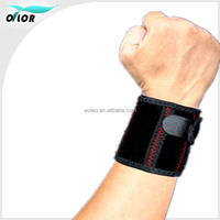 high quality embroid sport cotton wristband,nylon cloth sweatband