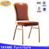 High quality stacking metal banquet room cheap restaurant chairs for sale used