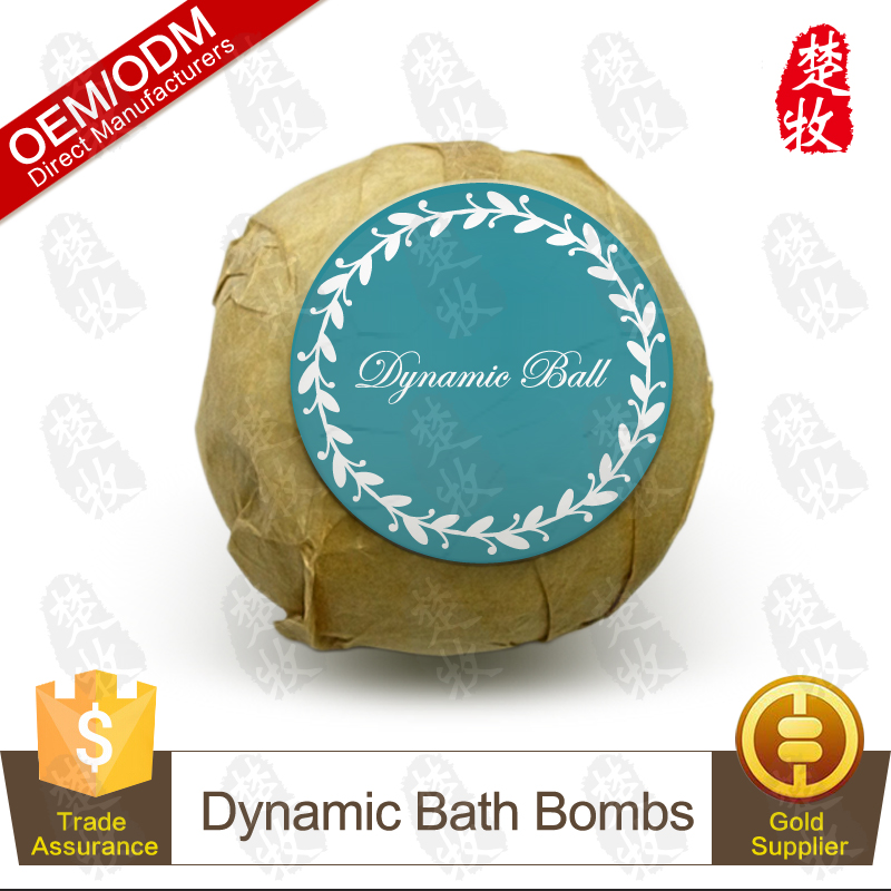 All Natural Ingredients Dynamic Bath Bomb OEM/ODM Professional Supplier