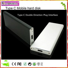 New style portable Type C external hard disk gift hdd