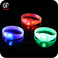 Hot Promotional Giveaways High Quality Led Flash Party Light Up Bracelet