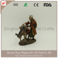 Factory OEM Design Resin Fairy Figurines Catholic Religious Souvenirs