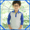 cotton long sleeve polo shirt 100 cotton for kids