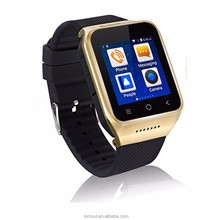 "smart watch MTK 6572 Dual core 1.54"" screen 512MB Ram 4GB Rom sim card Android 4.4 Bluetooth 3G WIFI Camera GPS PK ZGPAX S8"