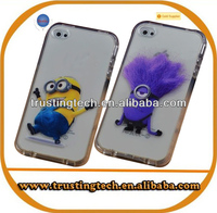 For iphone 4 4s case New arrival Despicable Me minion cell phone cases for iphone 4 4s