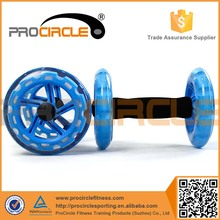 High Quality Body Building Exercise Dual AB Wheel Roller