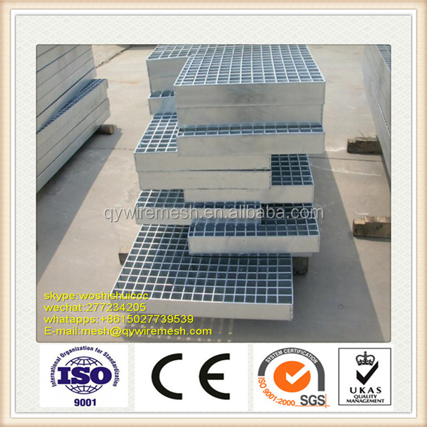 Professional manufacturer hot dipped galvanized steel catwalk grating for offshore