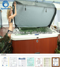 Hydro Jets Outdoor Spa/Whirlpool Outdoor with Overflow and LED lights