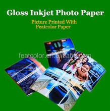 180gsm High Glossy Inkjet Photographic Paper Black And White