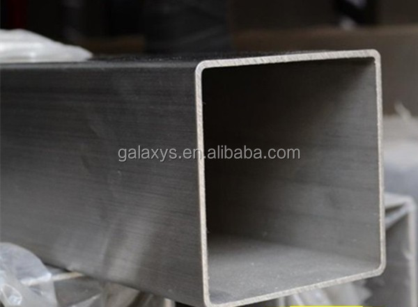 310s jindal stainless steel square pipes from wuxi galaxy