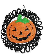 Made in China custom laser cut halloween felt door hanging decoration