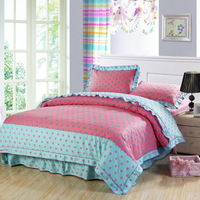 bedding article / luxury shiny bedding set,cotton jacquard bedspread,fashion patchwork bedding set