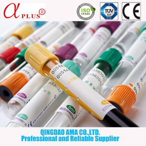 Best selling hospital medical supplies disposable vacutainer vacuum blood collection tube with high quality additive