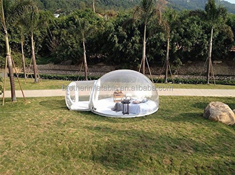 2017 Hot Sale tiny houses for sale inflatable bubble tent Outdoor Inflatable Igloo Tent