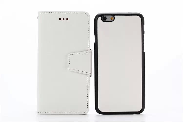 Premium crazy horse texture combined 2 in 1 leather case for iPhone 6