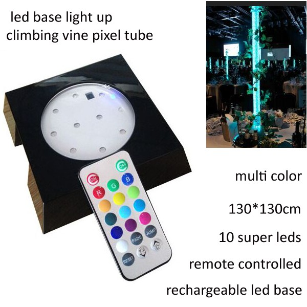 Outdoor event decoration light led base light up climbing vine pixel <strong>tube</strong>