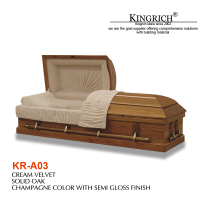 wooden coffin beds for the dead