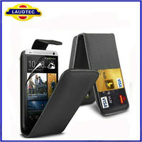 for Huawei Ascend P6 Credit Cards Slot Flip Style Leather Case