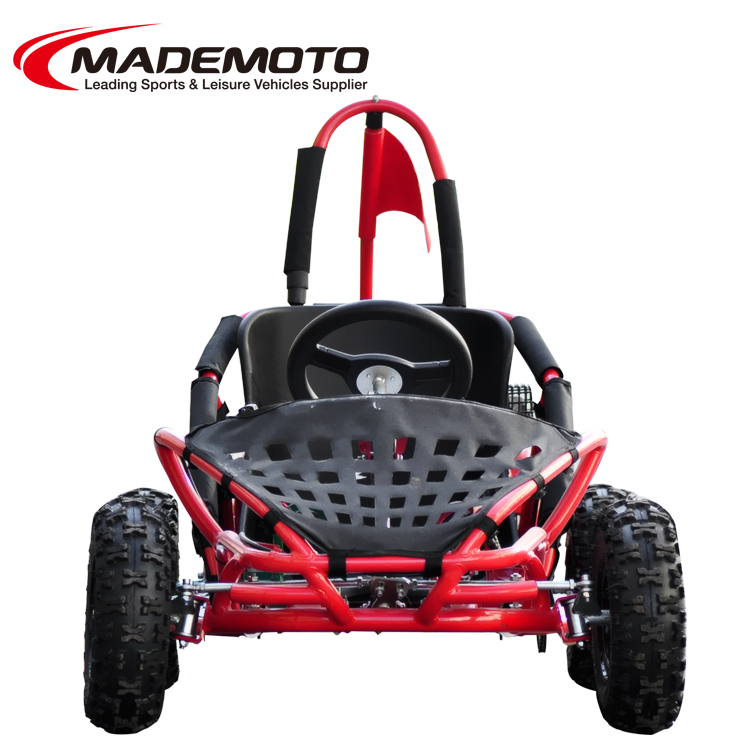 80cc Lifan engine adroit and aggressive adjustable molded bucket seat with secure seat belt system off-road go kart
