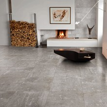 large size cement look grey color porcelain floor tile