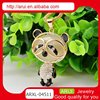 Costume jewelry cute diamond panda pendant necklace bisuteria