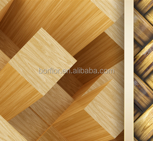 Protective 3d vinyl terrace tile flooring pvc self adhesive 3d epoxy low price flooring laminated