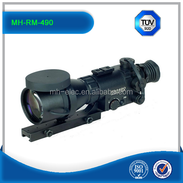 MH-RM490 Infrared night vision scope/hunter night vision with 4x magnification for hunter with detachable long range infrared il
