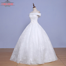 2017 Latest Style High Quality Ball Gown Lace Wedding Dress