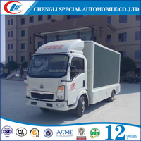P6 P8 P10 Mobile LED truck Outdoor LED truck Mobile advertising screen for sale