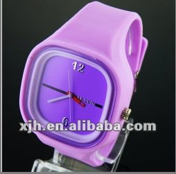 OEM Promotional Silicon Wristwatch